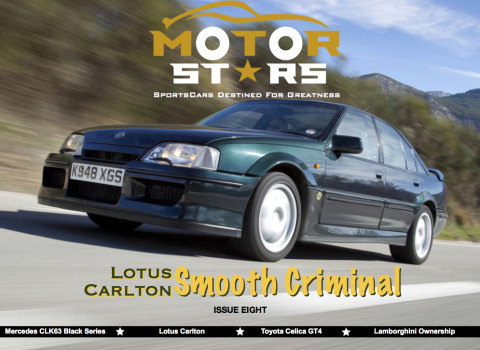 MotorStars Issue Eight Front Cover