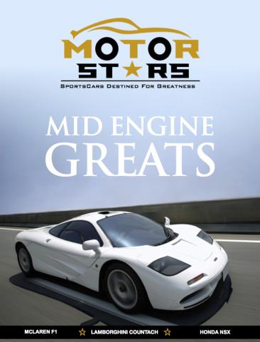 MotorStars Issue Fifteen Cover