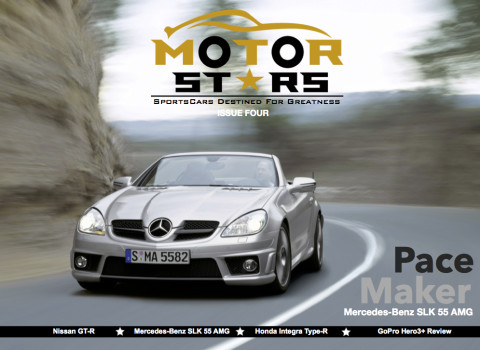 MotorStars Issue Four Front Cover