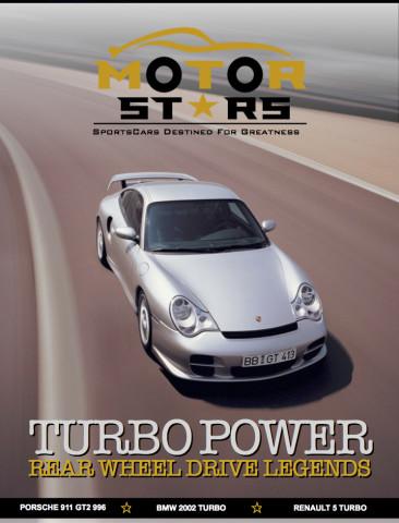 MotorStars Issue Fourteen Front Cover