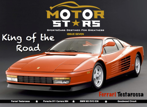 MotorStars Issue Seven Front Cover