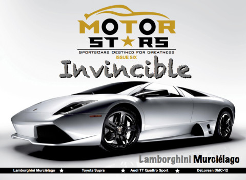 MotorStars Issue Six Cover