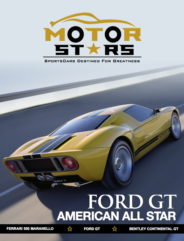 MotorStars Issue Sixteen Front Cover