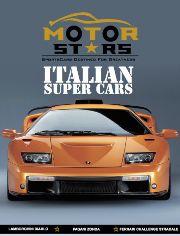 MotorStars Issue Thirteen Front Cover