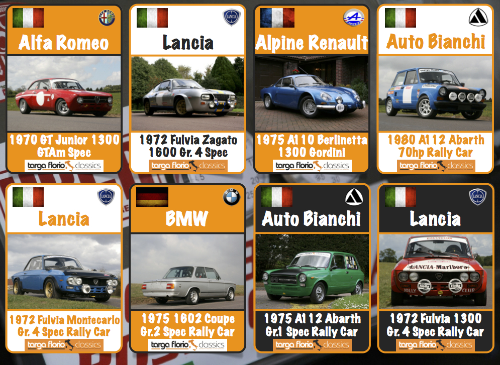 MotorStars Issue Five Targa Florio Classics Football Page