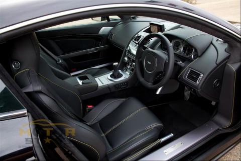 Aston Martin V8 Vantage Investment interior cockpit