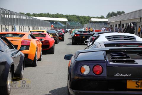 Lamborghini Club UK Silverstone Classic-2