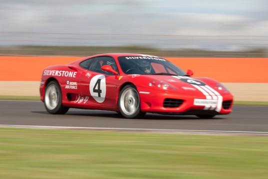 Silverstone Race Circuit Experiences Ferrari 360 Modena
