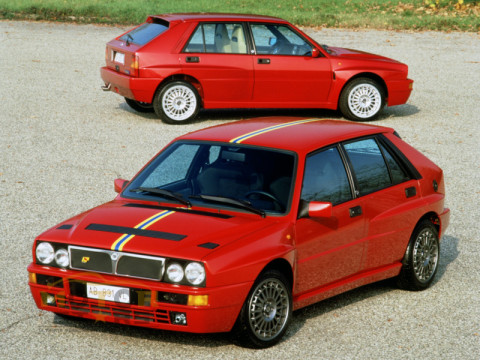 Lancia Delta HF Integrale Investment Car-2