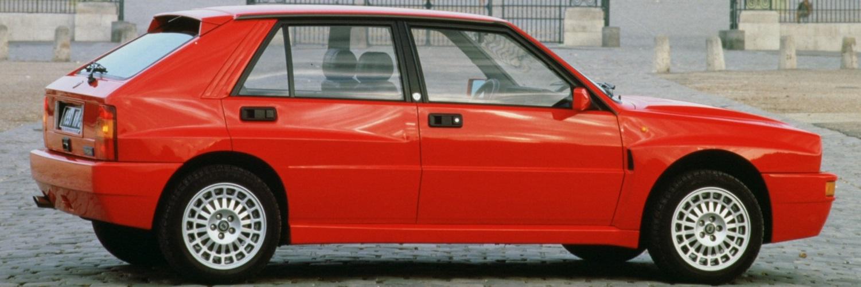 Lancia Delta HF Integrale Investment Car Banner