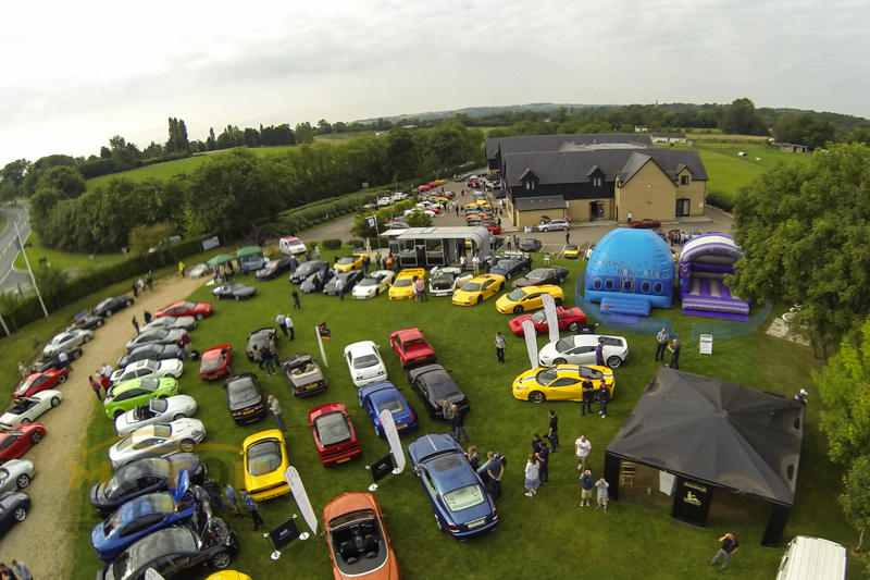 Sharnbrook Hotel Car Show