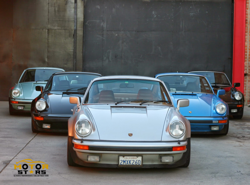 Magnus Walker Porsche 911 930 Collection Motorstars