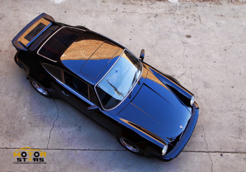 Magnus Walker Porsche 911 930 front aerial