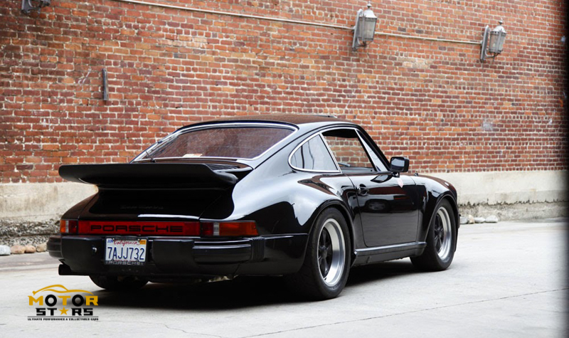Magnus Walker Porsche 911 930 Rear Motorstars