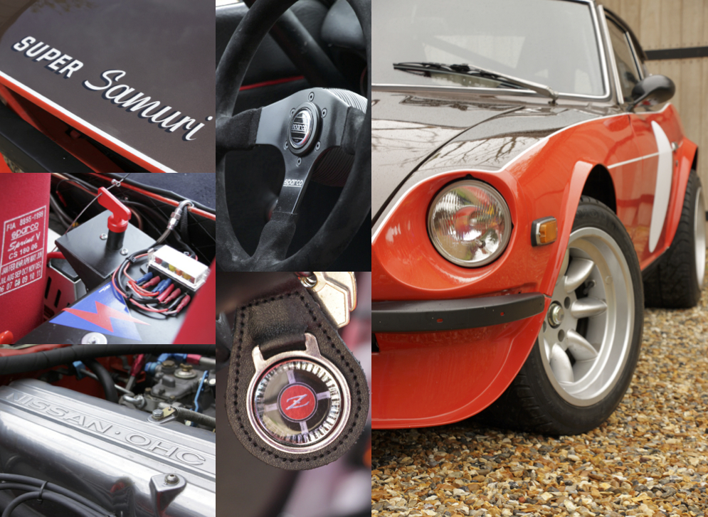 MotorStars Issue Five Super Samuri 240Z Photos