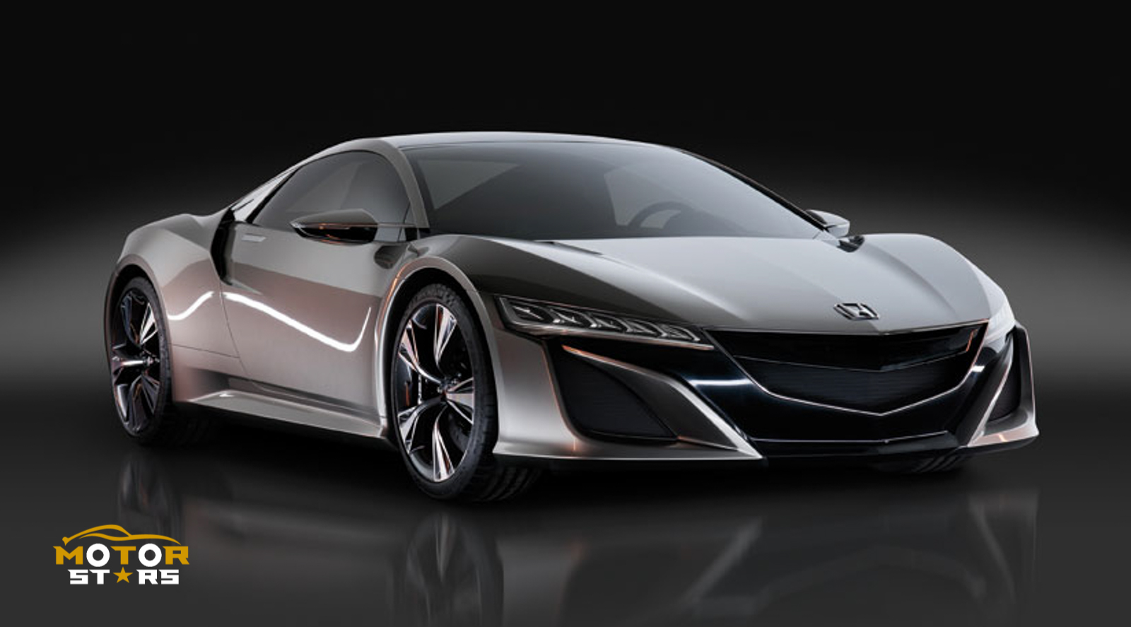 Honda Acura NSX 2015 Hybrid Electric Supercar-18 2013 concept grey front – MotorStars