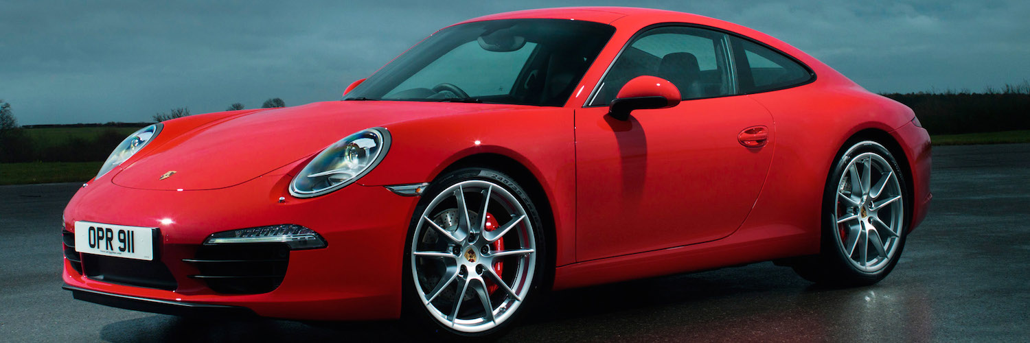 Porsche 911 Carrera S Coupe 991 UK 2011 Banner