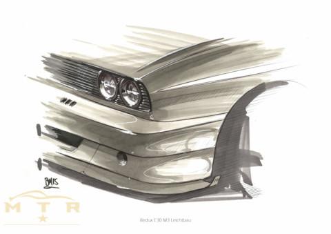 BMW M3 E30 Reimagined Redux Leichtbau-5