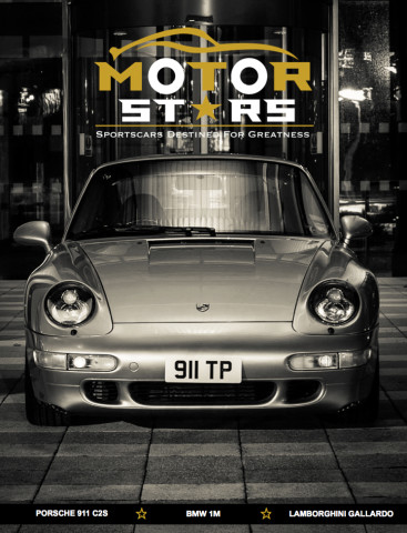 MotorStars Issue Twenty Front Cover