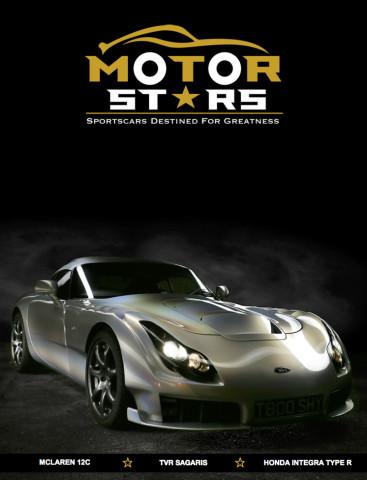 MotorStars Issue Twenty-One Front Cover 1