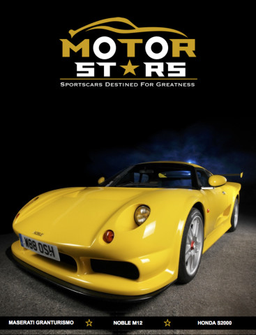 MotorStars Issue Twenty-Two Front Cover 1