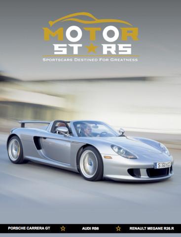 MotorStars Issue Twenty-Three Front Cover Porsche Carrera GT