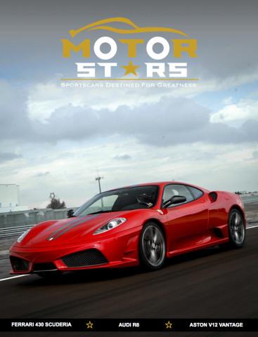 MotorStars Issue Twenty-Four Front Cover 1