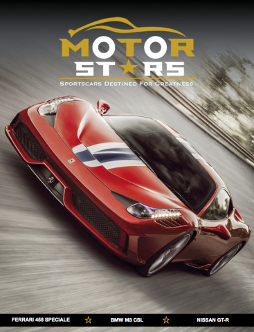 MotorStars Issue Twenty-Five Front Cover 1 Ferrari 458 Speciale