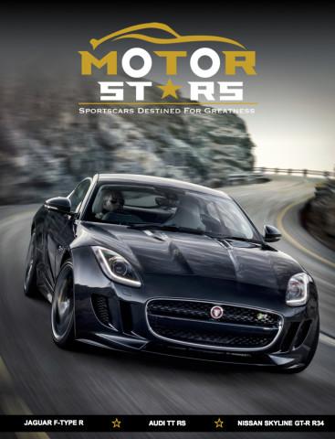 MotorStars Issue Twenty-Six Front Cover Jaguar F-Type R