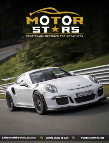 MotorStars Issue Twenty-Seven Front Cover Porsche 991 GT3 RS