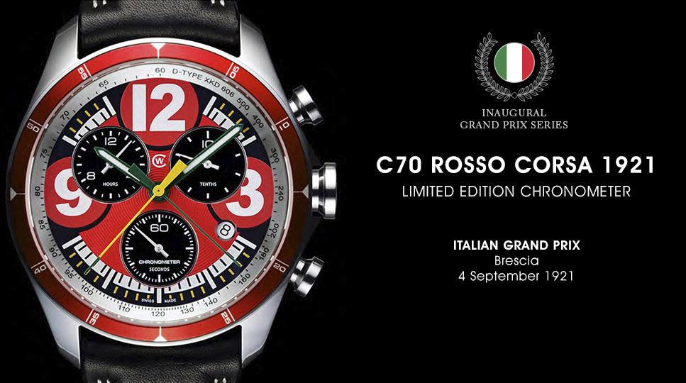 Christopher Ward Luxury Watches C70 GP Chronometer Series-2