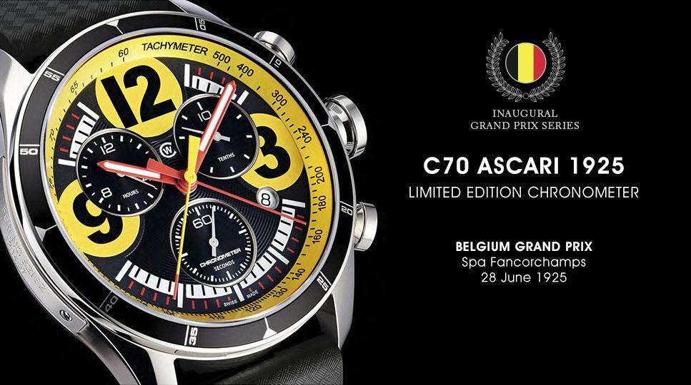 Christopher Ward Luxury Watches C70 GP Chronometer Series-4