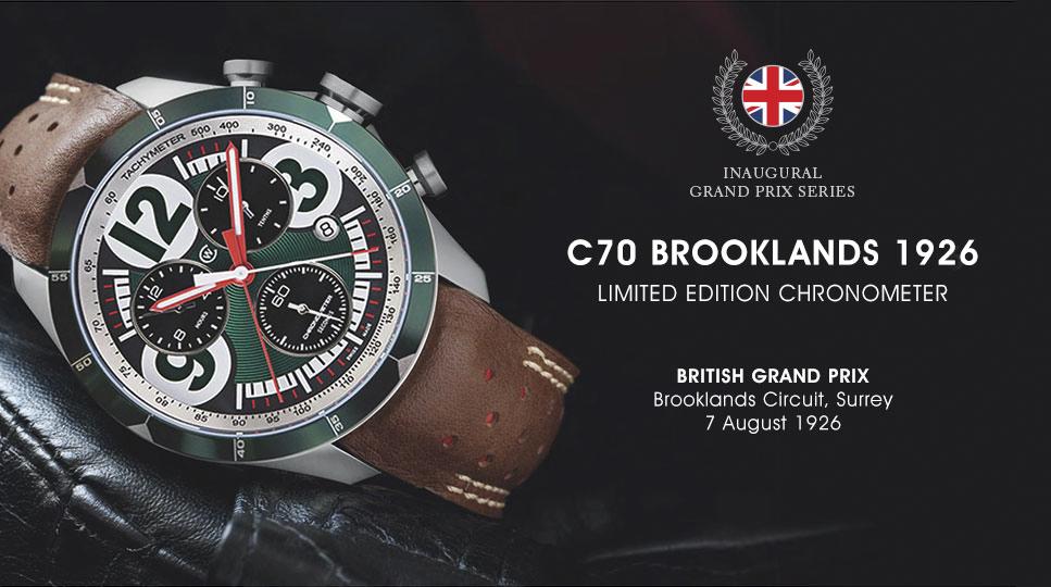 Christopher Ward Luxury Watches C70 GP Chronometer Series-5