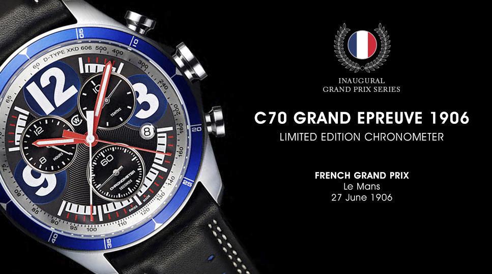 Christopher Ward Luxury Watches C70 GP Chronometer Series-6