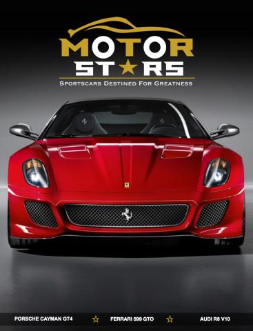 MotorStars Issue Thirty Front Cover 1 Ferrari 599 GTO