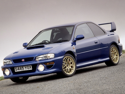 Subaru Impreza 22B STi Investment Car