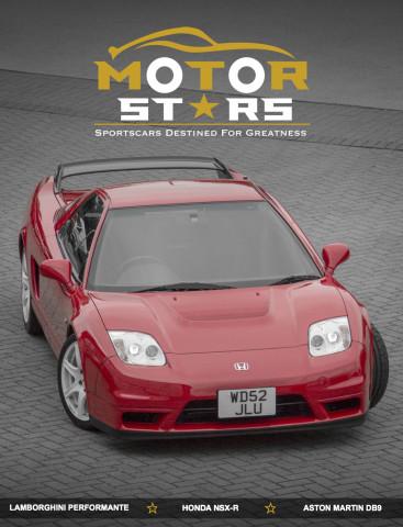 MotorStars Issue Thirty One Front Cover Honda NSX-R