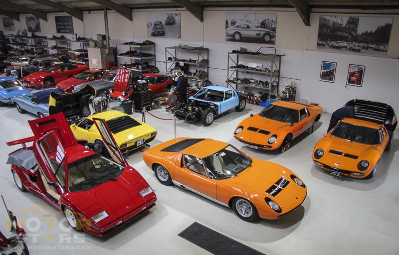 Lamborghini Miura Original Supercar Investment Car-6
