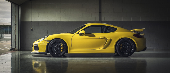 Small & Mighty – Porsche Cayman GT4