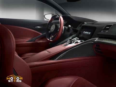 Honda Acura NSX 2015 Hybrid Electric Supercar 19 2013 Concept Interior  Details