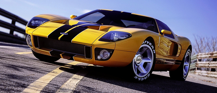 Ford Gt American All Star
