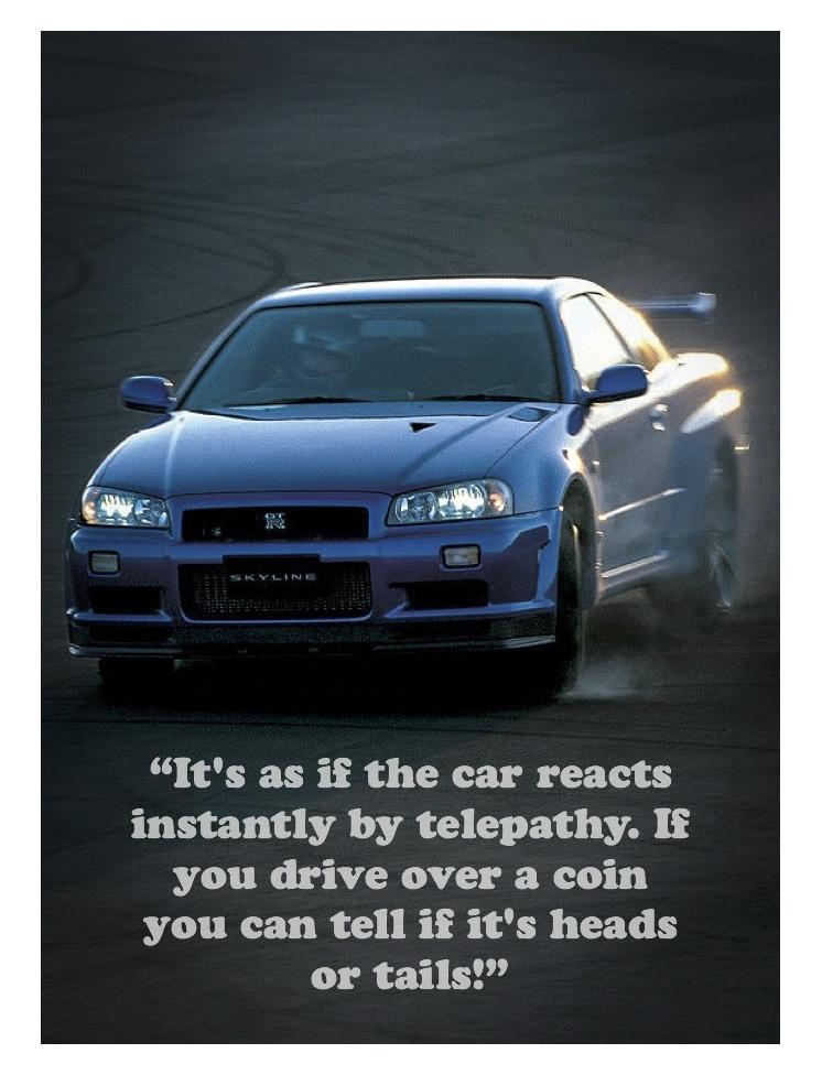 Motorstars Issue Twenty Six Nissan Skyline Gt R R34 Quote Page